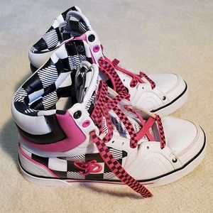 SOUTHPOLE SKATE STYLE SNEAKERS SZ 8